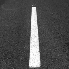Road with a white stripe texture or background