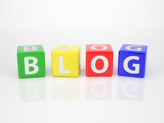 Blog out of Letter Dices