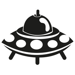 Vector Cartoon Ufo