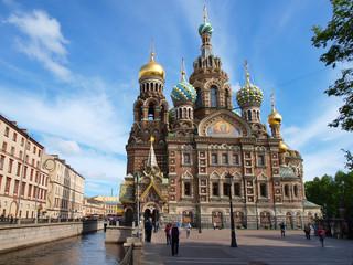 Spas-na-krovi cathedral in Saint-Petersburg