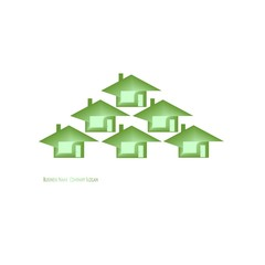 ecology Green Icons House