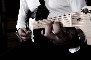 Guitar playimg