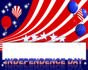 Independence Day background.