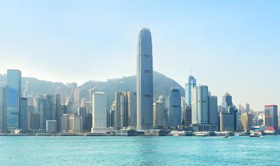 Business center of HK