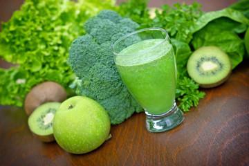 Green smoothie  - Green organic juice