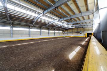 Indoor riding hall