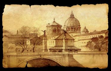 Basilica San Pietro in Rome, Italy