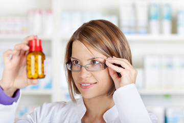 Checking medicine