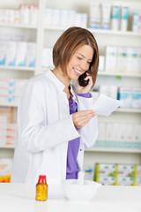 Calling pharmacist