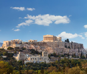 Canvas Prints Athens Parthenon, Akropolis - Athens, Greece
