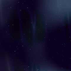 Foggy space background