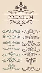 Calligraphic Decoration Design