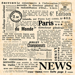 Papiers peints Journaux News background