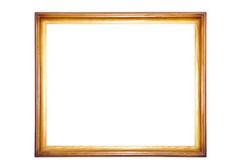 One wooden frame