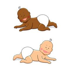 Baby crawling 3