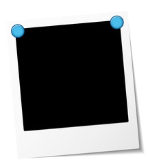 Polaroid Blue Magnets