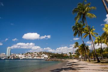 Beach of Fort-de-France, Martinique