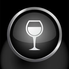 Wine Glass Icon Symbol Vector
