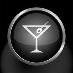 Matini Glass Icon Symbol Vector