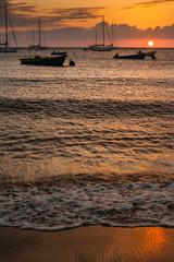 Sunset in Martinique