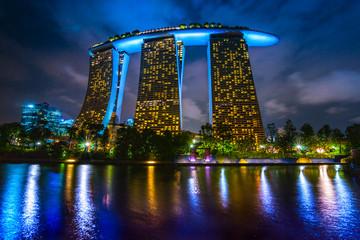 Foto op Plexiglas Singapore Marina Bay Sands, Singapore,