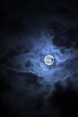 Foto op Aluminium Volle maan Full moon