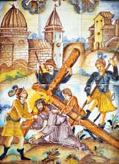 Imagen religiosa, Jesus en el Calvario