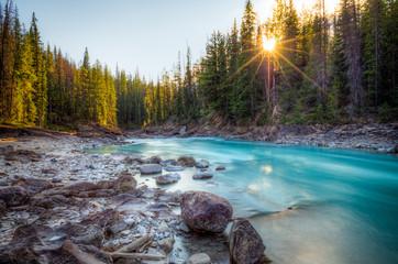 Poster Canada Natural Bridge Canadian rockies