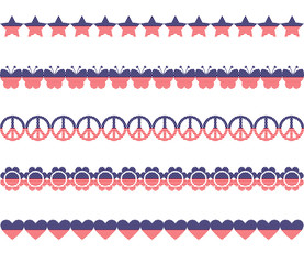 Stars Stripes Borders