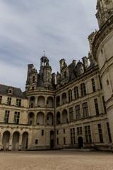 Cour du Château de Chambord