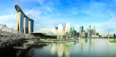 Foto op Plexiglas Singapore Panorama of Singapore