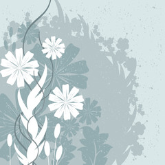 Flowers and Leaves Design