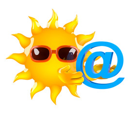 Sunshine acquires an email address
