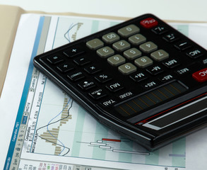Calculator with documents