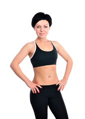 Young fitness woman