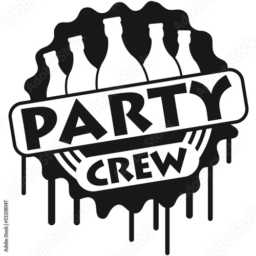 Quot Party Crew Graffiti Quot Stock Photo And Royalty Free Images