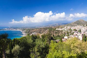 Beautiful mountain coast