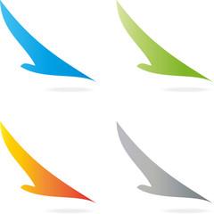 Logo, Vogel, Phoenix, Vogel im Flug