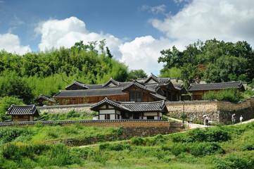 Hyangdan, Korean Traditional House in Yangdong Village