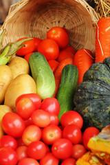 Fotobehang Kruidenierswinkel Fresh vegetable.