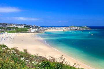 Fototapeta St Ives Cornwall England UK