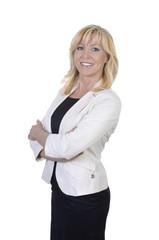 Geschäftsfrau lächelt Portrait