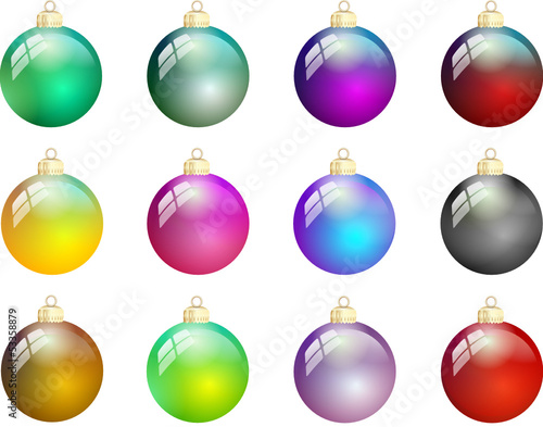 Christbaumkugeln Glas Kaufen.Weihnachtskugeln Glas Bunt Stockfotos Und Lizenzfreie Vektoren Auf