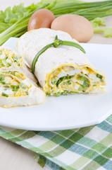 pita bread roll