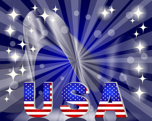 3d USA for the U.S. national holidays
