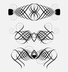 Decorative ornamental elements