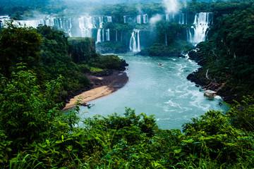 Iguassu Falls,view from Brazilian side