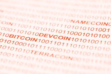 Bitcoin Devcoin Namecoin Terracoin