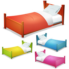 Cartoon Bed Set