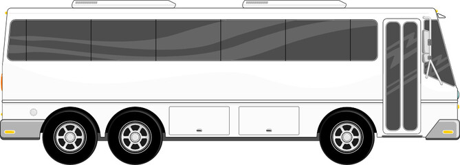 passenger bus vector